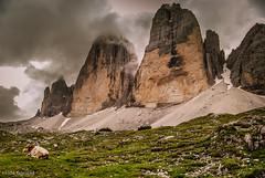 Before the rain (Hilde Saelens) Tags: italy dolomites altoadige southtirol dolomiten dreizinnentrecime