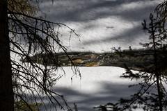 Johnston Creek appearing in early spring melt, Johnston Canyon, Banff, Alberta (Jim 03) Tags: blue lake snow mountains ice wall creek river melting path turquoise jim canyon louise covered alberta bow banff icicles johnston jimhoffman jhoffman jim03 wwwflickrcomphotosjhoffman2013 wwwjimahoffmancom