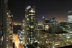 West Georgia at Night (altmmar89) Tags: canada beautiful vancouver canon downtown bc pcs harbour ciudad columbia views british nightshots cbd coal canad vancity canadienses vistanocturna 60d