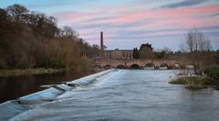 (Rob Hurson) Tags: bridge ireland sunset rural evening spring pentax medieval meath slane tamron2875mmf28 riverboyne pentaxk30 boynenavigation