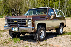 1978 Chevrolet Blazer K5 (The Adventurous Eye) Tags: party classic cars chevrolet museum us american classics opening 1978 blazer jk k5 2016 lužná