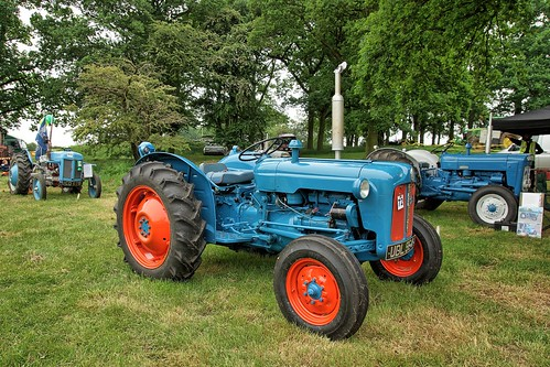 UK, Woolpit Steam Rally,  UDL964 Tractor HDR