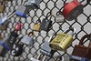 Roman Loves Deana (Read2me) Tags: lock fence metalwords writing sign many cye thechallengefactorywinner dof friendlychallenges gamewinner pregamewinner superherowinner perpetualchallengewinner