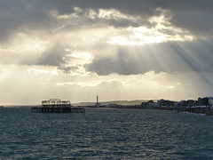 Hi God, nice to see you (_Suminch_) Tags: sea landscape pier god suminch