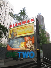 Alice Through the Looking Glass Beekman Marquee 9266 (Brechtbug) Tags: new york city nyc streets film glass cat movie poster marquee tim nice theater looking cheshire theatre alice lewis guys disney billboard lobby 2nd johnny billboards carroll through mad too depp avenue wonderland between hatter burtons marquees 66th in 2016 beekman standee 67th 05282016