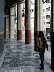 getting lost in the beauty (pietrocarus) Tags: trip italy beauty details sicily piazza palermo politeama