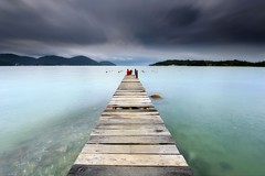 Colorless (fiz_zero) Tags: nikon nikond750 nikon1635mmf4vr sunset cloudy sea seascape beach seaside sky skyline longexposure jetty pier beauty motion nature landscape wallpaper background explore tranquil marinaisland perak lumut malaysia asia nisifilter nisimalaysia nisind1000 nisirgnd