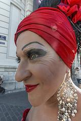 Da del Orgullo Gay 2.016... en 10 mm (la Reinona) (Salvador Ruiz Gmez) Tags: gays lesbianas bisexuales transexuales dadelorgullogay valencia