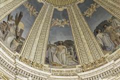 Beati Pauperes (Lawrence OP) Tags: wow painting stpauls malta angels dome beatitudes fresco rabat