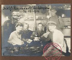 Kriegserinnerungen 1914-18. 150 - Ichtegem, kasteel Rosendahl (Feldpost 14) Tags: wwi worldwari 1wk 1916 flandern ichtegem 2weihnachtsfeiertag 26dezember weihnachten1916 26dezember1916 19161226