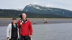 Photographing bears in Lake Clark NP - Alaska