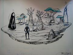 ip mc1984 (mc1984) Tags: wip mc1984 flickr drawing mondo carrot rabbit