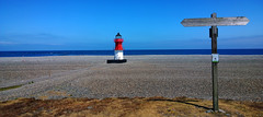Sunny day at the Point of Ayre. (Chris Kilpatrick) Tags: blue chris lighthouse beach nature june outdoor stones north bluesky isleofman irishsea pointofayre nokialumia1020
