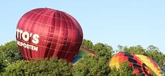 Image4 (thehachland) Tags: sunset fire flames balloon hotairballoons ballstonspa saratogacounty saratogacountyfairgrounds saratogaballoonandcraft