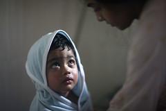Eyeball Me !!!! (N A Y E E M) Tags: umar kalam son shezin wife mother child bathroom light home shower robe moment rabiarahmanlane chittagong bangladesh sooc raw unedited untouched unposed availablelight indoors lulu
