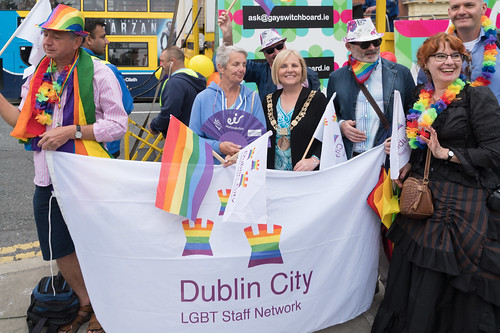 PRIDE PARADE AND FESTIVAL [DUBLIN 2016]-118031