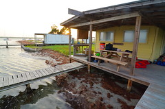 Shack (chadbach) Tags: ocean camping camp water bay boat sailing texas mud 200 sail 2016