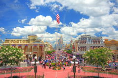 Main Street U.S.A. - Disney's Magic Kingdom (J.L. Ramsaur Photography) Tags: sky clouds photography photo nikon florida americanflag bluesky pic patriotic disney disneyworld photograph mickeymouse thesouth orangecounty waltdisneyworld magical crowds hdr starsandstripes magickingdom redwhiteblue usflag waltdisney oldglory mainstreetusa whiteclouds centralflorida beautifulsky happiestplaceonearth 2016 imagineering disneycharacter photomatix lakebuenavistafl deepbluesky waltdisneyworldresort bracketed skyabove wheredreamscometrue hdrphotomatix hdrimaging cinderellascastle ibeauty hdraddicted allskyandclouds tennesseephotographer southernphotography screamofthephotographer hdrvillage disneysmainstreetusa disneysmainstreet jlrphotography photographyforgod disneysmagickingdom worldhdr d7200 hdrrighthererightnow engineerswithcameras hdrworlds jlramsaurphotography nikond7200 patrioticproud