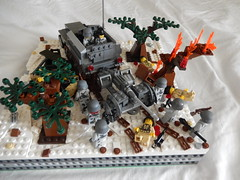 Armor advance. (Brick Lieutenant) Tags: america lego military ww2 germans brickarms legomilitary legoww2