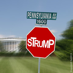 STRUMP (eugeniodurval) Tags: ohio white house democracy dc washington election clinton cleveland president stop disaster convention hillary trump gop catastrophe