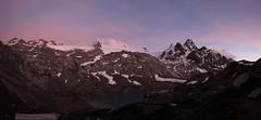 Tramonto al Rifugio Deffeyes - Sunset at Rifugio Deffeyes (Matteo Selva) Tags: sunset mountain landscape tramonto glacier alpinismo alp valledaosta ghiacciaio lathuile vda ghiacciai rutor deffeyes