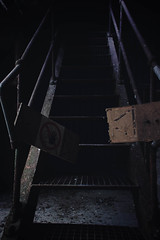 Scares (jcphotos_) Tags: dilapidatedvisuals darktones lowlife cannonlyk 50shadesofscary scary creepy creep shadow stairs stop dark lowlight lowlightlife b4 hd young