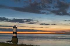 'Penmon Noctilucents' - Anglesey (Kristofer Williams) Tags: longexposure sea sky cloud lighthouse seascape beach wales night skyscape stars coast nightscape nlc cloudscape noctilucent penmon penmonpoint noctilucentcloud polarmesosphericcloud