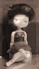 my new doll (Orange tea dolls) Tags: orange ball doll dolls tea bjd jointed