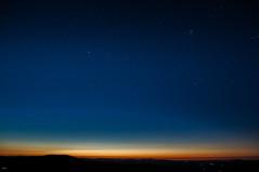 feel a dawn (nmaicas) Tags: amanecer sunrise dawn stars blue layers sunlight pleyades tauro aldebaran capella
