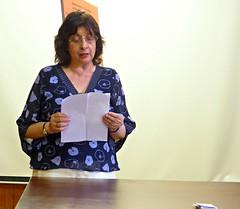 Anissava Miltenova, Sofia (ali eminov) Tags: sofia bulgaria conferences people women scholars bulgarianscholars meetings anissava