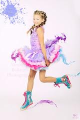 Bright Colors of Childhood (MissSmile) Tags: misssmile child kid girl color splash vivid sweet adorable memories creative portrait manipulation smile braids