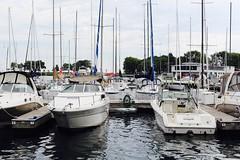 "Day Three: ""Water"" - Horizontal Direction (MichisPichis) Tags: chicago lakeshoredrive marina belmont summer"