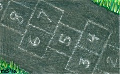 16JUL29icad (chaosatlanta) Tags: icad index card daily challenge cherylasmith hopscotch