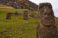 rapa nui 213 16 34  0759 (moments caught in flight) Tags: rapanui easterisland moai ranoraraku quarry