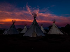 El Cosmico (wayoutwalt) Tags: landscape awesome nikon amazing nice best wow favorite follow sunrise red pink blue camping camp teepee beauty skyporn bluehour night cloudporn clouds sky beautiful art sunset