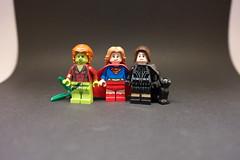 Ladies (H.-o.-p.-E.) Tags: lego catwoman poisonivy supergirl dc superheroes gotham metropolis
