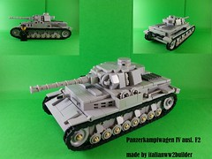 Panzer IV ausf. F2 (italianww2builder) Tags: panzer iv ausf f2 tank german custom war ww2