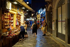 * (dvolic) Tags: slippery corfu old town kerkyra shop street night