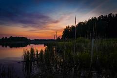 Sunset (alex.salt) Tags: russia countryside dusk landscape nature outdoor public river sky sunset water pentaxk5 smcpentaxda1855mmf3556alwr 18mm
