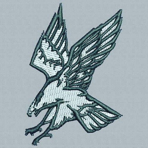 Digitized #goldeneagle - true flat rate embroidery digitizing - prices start at $5.99 per design. Email your artwork in pdf, jpg or png format to indiandigitizer@gmail.com. http://ift.tt/1LxKtC5 #FlatRateEmbroideryDigitizing #Indiandigitizer #embroiderydi