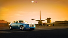 Dubai Style (GL1) Tags: forza motorsport 6 dubai sunset xbox xone one game digital art luxury plane rolls royce rollsroyce expensive wraith yellow blue white