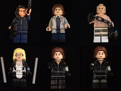 Which Quake is better ? Agent may //// Agent Simon's ////  Absorbing Man //// mockingbird //// Quake (Letgoofmylego) Tags: marvel agent shield lego minifig tv show skye jonson jonhson quake may