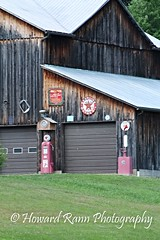 Pennsylvania Countryside (Framemaker 2014) Tags: barn farm gasoline pumps texaco sign service station unityville pennsylvania montour county endless mountains united states america