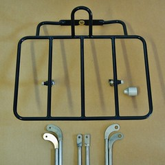 Camper/Porteur Rack (guidedbybicycle) Tags: porteur rack bicycle touring camping front rando randonneur randonneuring steel 4130 stainless