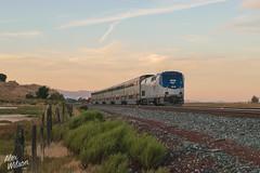 AMTK 201 (cadet_wilson) Tags: amtrak california bahia benicia sunset landscape afternoon