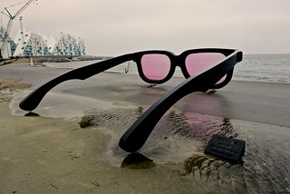 SEA PINK BY SWISS ARTIST MARK MOSER .