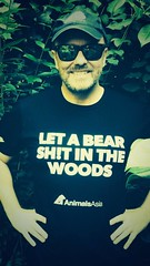 Ricky Gervais adopts a Peace by Piece bear