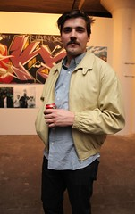 Marty HEKL Sims memorial art show at 15th & West Gallery in Pilsen, Chicago (fotoflow / Oscar Arriola) Tags: show usa chicago west art america us illinois memorial midwest gallery december uncle space united nick pilsen exhibition il american western states marty 15th hek 2014 hekl