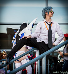 Aikuro Mikisugi - Kill la Kill - AWA 2014 (novavistaphotography) Tags: 50mm nikon cosplay awa cosplayers nikond3200 animeweekendatlanta costumeplay killlakill animeweekendatlanta2014 awa2014