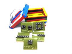 lego box (4 of 4) (rubygirl jewelry) Tags: leo box handmade brooch cufflinks goldenglobes sterlingsilver lapelpin etsymetal tiebar legojewelry